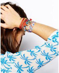 Hipanema - Red Madness Friendship Bracelet - Lyst