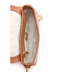 Tory Burch Brown Robinson Adjustable Mini Bag