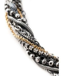 Puro Iosselliani - Black Tangled Necklace - Lyst