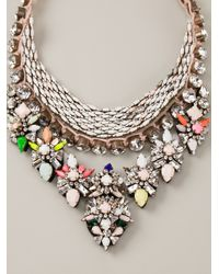 Shourouk   Multicolor 'river Cosmic' Necklace   Lyst