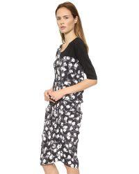 Zero + Maria Cornejo - Off Kilter Swing Dress - Black - Lyst