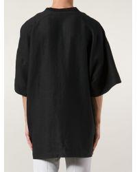 Chapter Black Oversized T-Shirt for men
