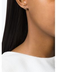Maria Black | Metallic 'tusk Twirl' Earrings | Lyst