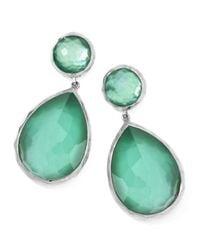 Ippolita - Green Large Mother-of-pearl Wonderland Teardrop Earrings - Lyst