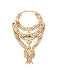 Samantha Wills Metallic The Grand Necklace - Shiny Gold