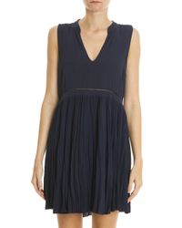 Elizabeth and James Blue Misha Dress