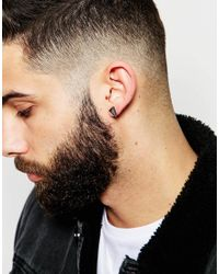ASOS - Multicolor Earring Stud Pack With Spikes And Crystals for Men - Lyst