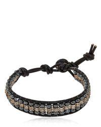 Colana | Black Hematite Bracelet | Lyst