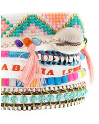 Hipanema | Multicolor Fluro Multicoloured Friendship Bracelet | Lyst