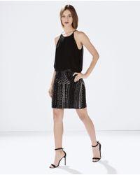 Parker - Black Farrow Dress - Lyst