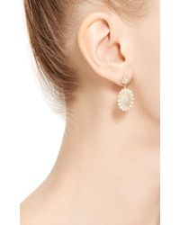 Jamie Wolf | Metallic Sunflower Earring with White Diamonds | Lyst