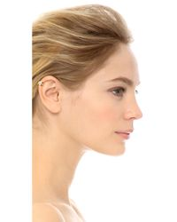 Campbell | Metallic Claw Ear Cuff - Gold | Lyst