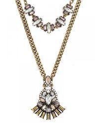 BaubleBar - Metallic Nirvana Necklace - Lyst