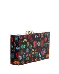 Charlotte Olympia   Multicolor Printed Pandora Clutch   Lyst