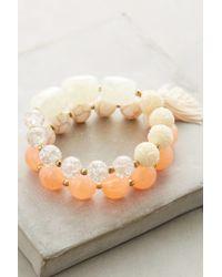 Anthropologie   Orange Mela Bracelet Set   Lyst