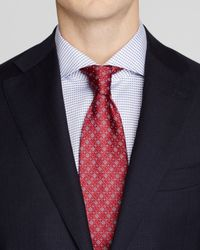 Canali - Blue Micro Box Texture Regular Fit Suit for Men - Lyst