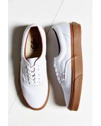 Vans | White Era Gumsole Shoe | Lyst