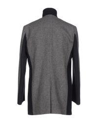 Alessandro Dell'acqua - Black Coat for Men - Lyst