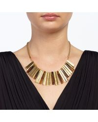 John Lewis | Metallic Fan Necklace | Lyst