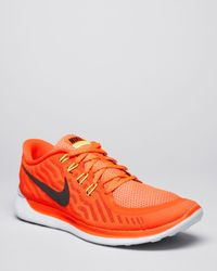Nike | Red Free 5.0 Sneakers for Men | Lyst