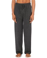 Derek Rose | Gray Finley Cashmere Pyjama Bottoms | Lyst