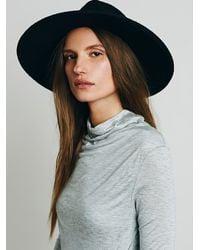 Free People | Gray Metrical Dress | Lyst