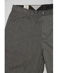 Volcom - Gray Frickin Chino Short for Men - Lyst