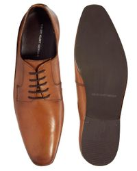 KG by Kurt Geiger - Brown Kg By Kurt Geiger Andrei Leather Shoes for Men - Lyst