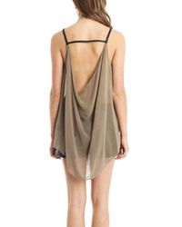 Nicholas K - Natural Bevy Top Fox - Lyst