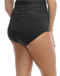 Carmen Marc Valvo | Black Plus Hipster Bikini Swim Bottoms | Lyst