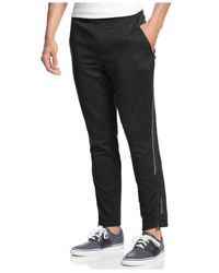 Calvin Klein | Black Performance Interlock Track Pants for Men | Lyst