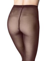 Wolford Brown Velvet De Luxe 50d Tights
