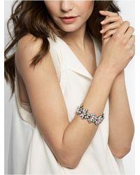 BaubleBar | Blue Howlite Tiffany Stretch Bracelet | Lyst