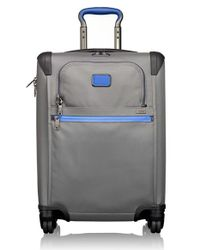 Tumi Gray 'alpha 2' Continental Rolling Four Wheel Carry-on for men