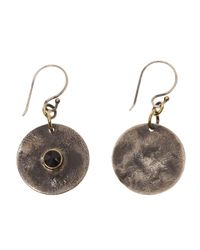 Beth Orduna - Metallic Coin Earring - Lyst