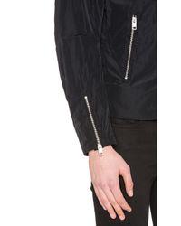 DIESEL - Black Edge-clean Jacket for Men - Lyst