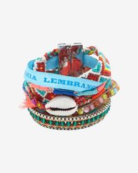 Hipanema - Blue Ocean Bracelet Red - Lyst