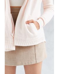 Silence + Noise - Pink Take Your Time Cardigan - Lyst