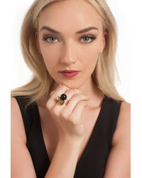Trina Turk Black Stackable Ring