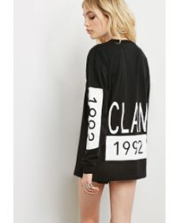 Forever 21 - Black This Is A Love Song 1992 Clan Tee - Lyst