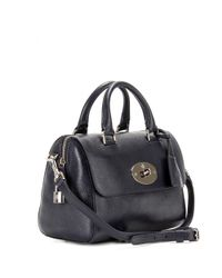 Mulberry Black Small Del Rey Leather Tote