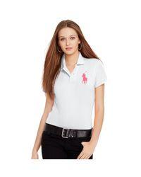 Pink Pony | White Pink Pony Polo Shirt | Lyst