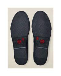 RRL - Blue Norfolk Jaspé Sneaker for Men - Lyst