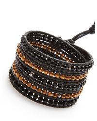 Nakamol | Metallic Zigor Wrap Bracelet-black/copper | Lyst