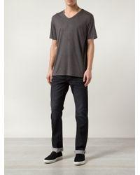 Joe's Jeans - Gray Marled T-Shirt for Men - Lyst