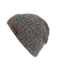 Polo Ralph Lauren | Gray Melange Knit Wool Blend Beanie for Men | Lyst