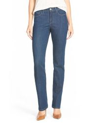 NYDJ - Blue 'barbara' Stretch Bootcut Jeans - Lyst