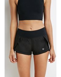 Forever 21 - Black Layered Running Shorts - Lyst