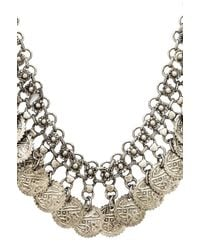 Raga | Metallic Coin Necklace | Lyst
