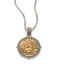 Konstantino | Metallic Kerma Aphrodite Bronze & Sterling Silver Coin Pendant | Lyst